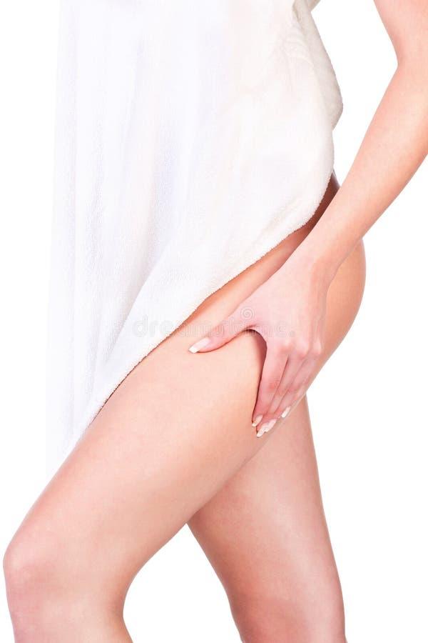 Download Pinching Leg For Skin Fold Test Stock Image - Image: 23035567
