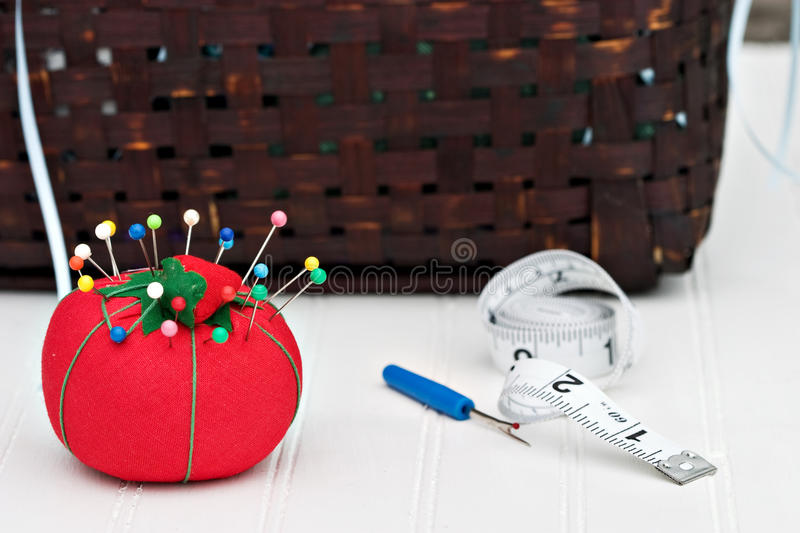 pincushion arkivfoto