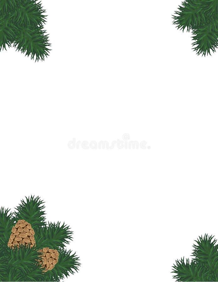 Download Pine Bough stock vector. Illustration of seasonal, evergreen - 27580271