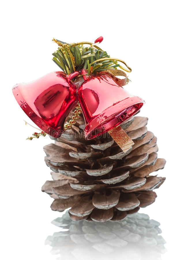 Download Pine cone and glass bell stock photo. Image of people - 28444534