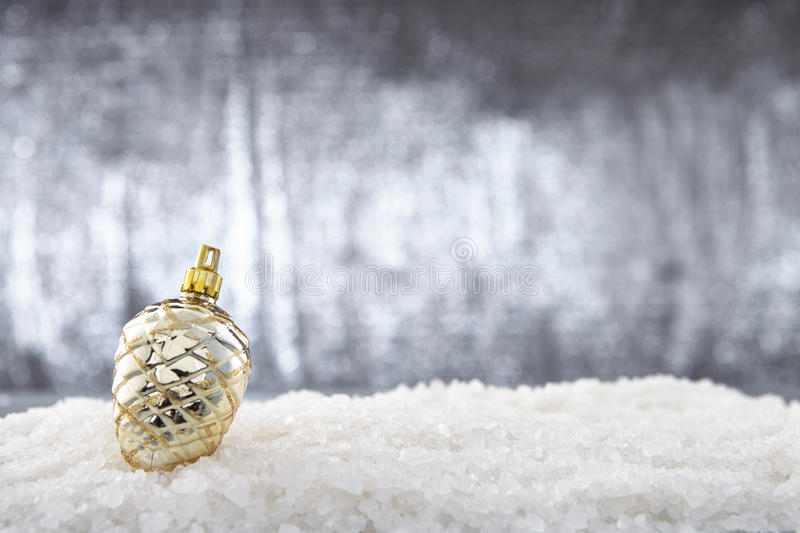 Download Pine cone stock photo. Image of shiny, bauble, merry - 34436010