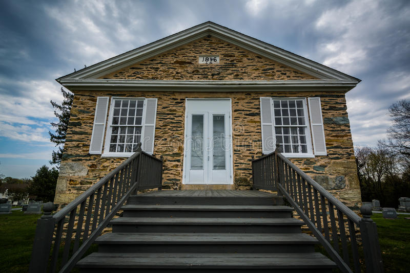Pine Grove Presbyterian Church, in Mount Airy, Maryland. royalty free stock images