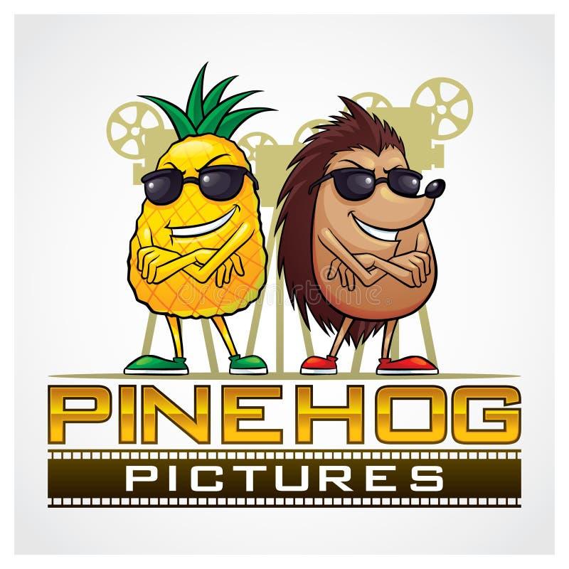 Download Pine Hog Pictures stock vector. Illustration of cartoon - 33783221