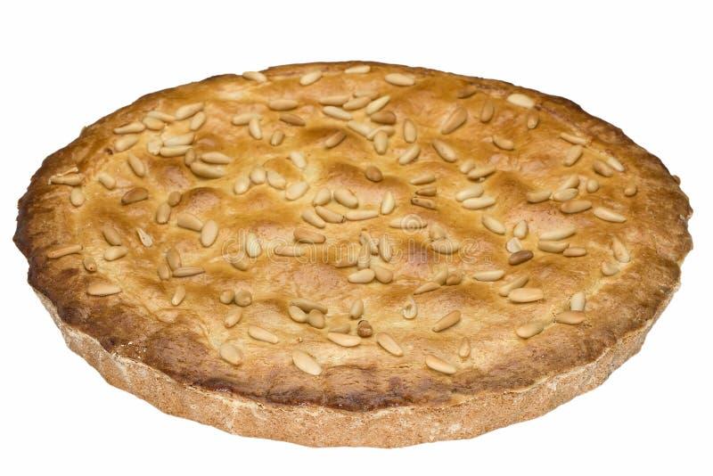 Pine Nuts Cake royalty free stock photos