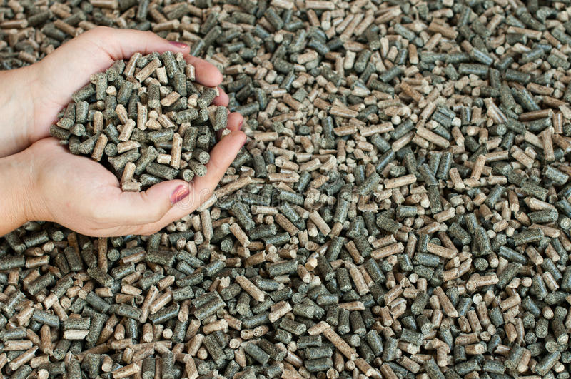 Download Pine, Sunflower And Oak Pellets Royalty Free Stock Photos - Image: 28185468