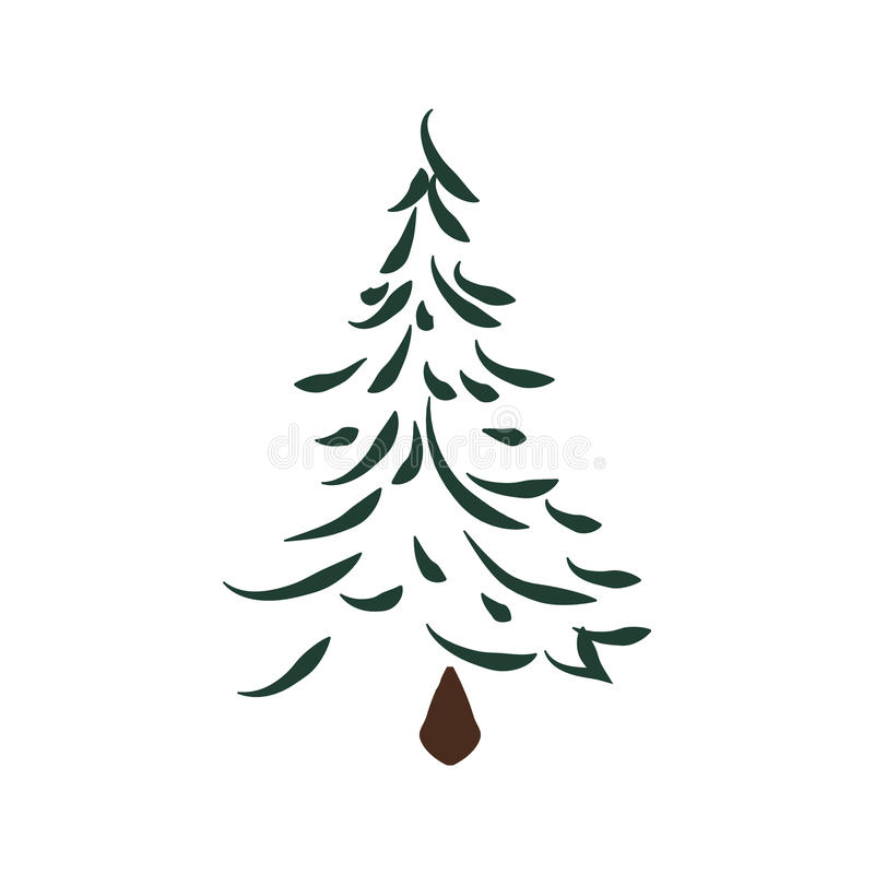 pine tree icon nature and plant design vector graphic stock rh dreamstime com pine tree graphic images white pine tree graphic