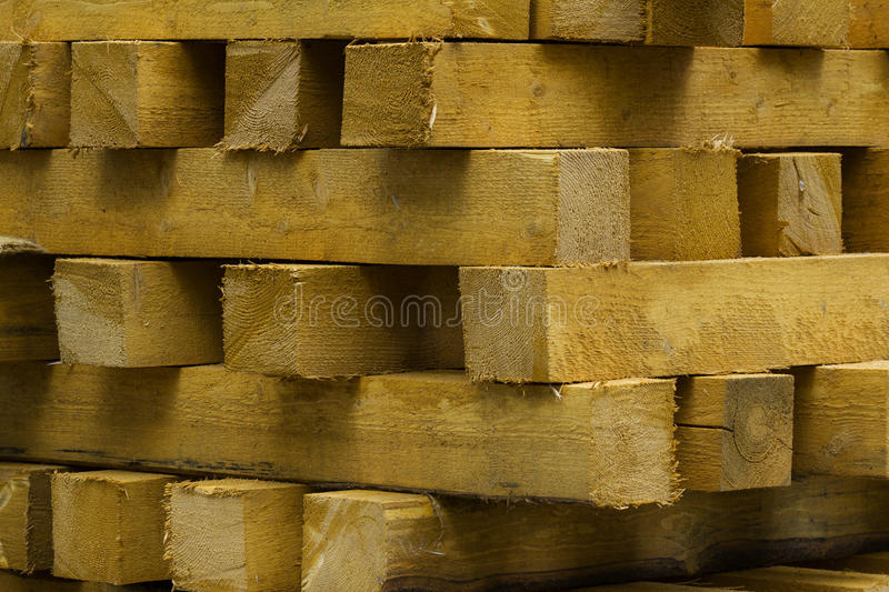 Download Pine Wooden Coniferous Beams Stock Image - Image: 21463123