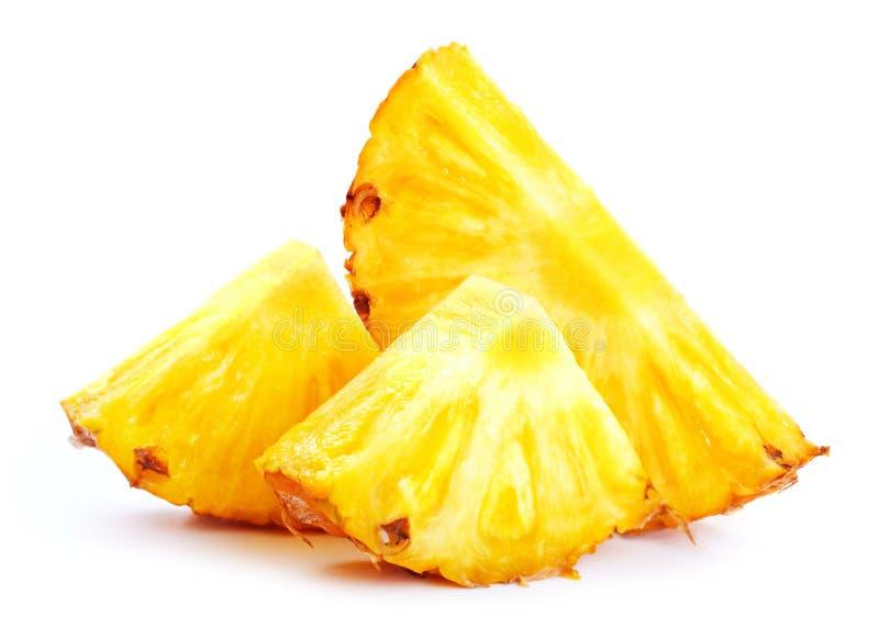Pineappele nei pezzi fotografie stock libere da diritti