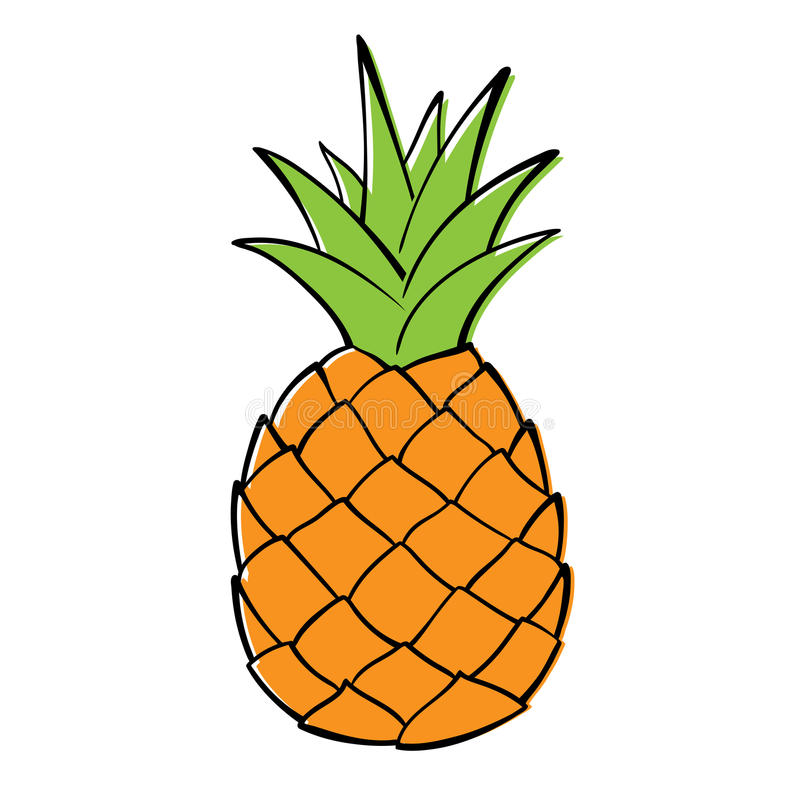 Free Pineapple. Stock Images - 55526274