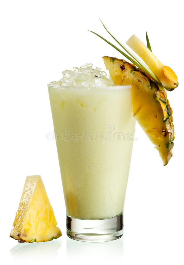 Pineapple Cocktail stock image