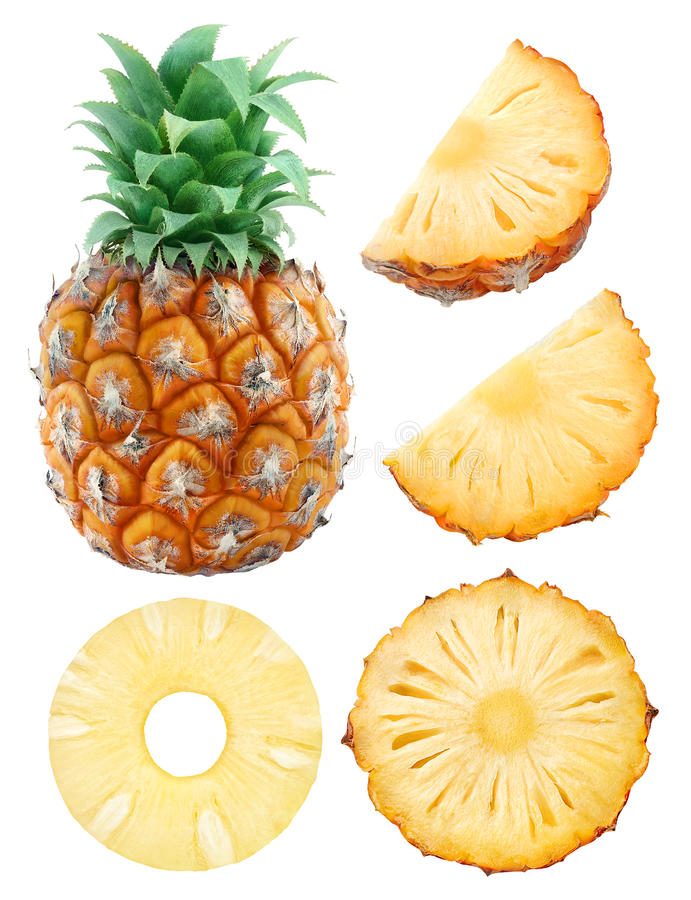 Free Pineapple Collection Stock Photos - 64789493