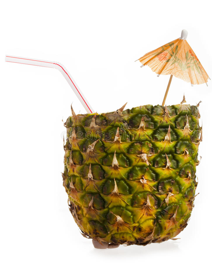 Pineapple cup stock image