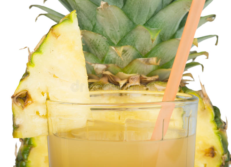 Download Pineapple And Glass Of Juice Royalty Free Stock Photo - Image: 33700775