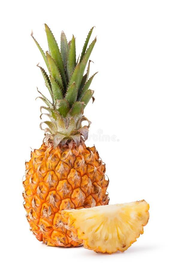 Pineapple. Isolated on white background stock image