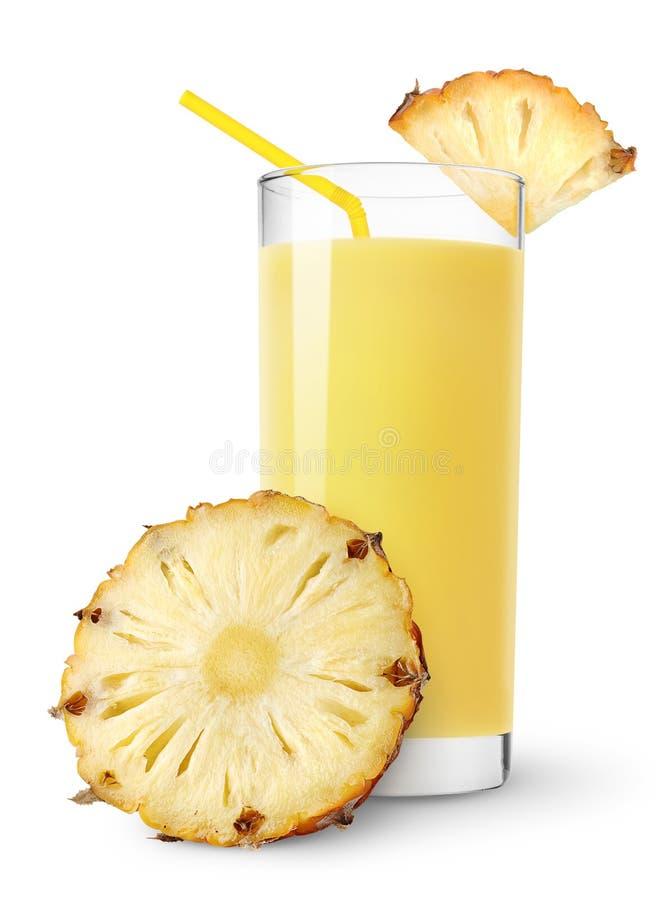 Pineapple juice royalty free stock image