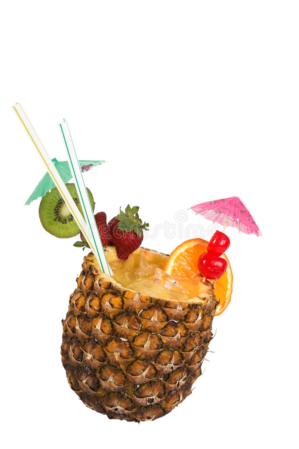 Free Pineapple Juice Drink Royalty Free Stock Images - 596479