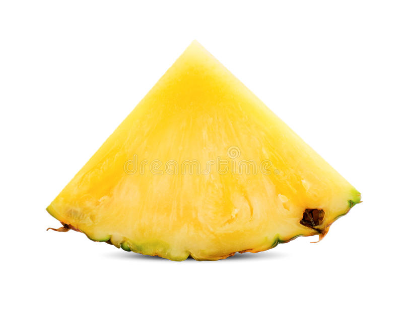 Pineapple slice royalty free stock image