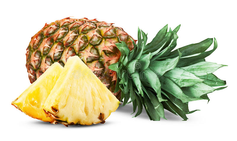 Download Pineapple stock image. Image of good, close, color, isolated - 48622755