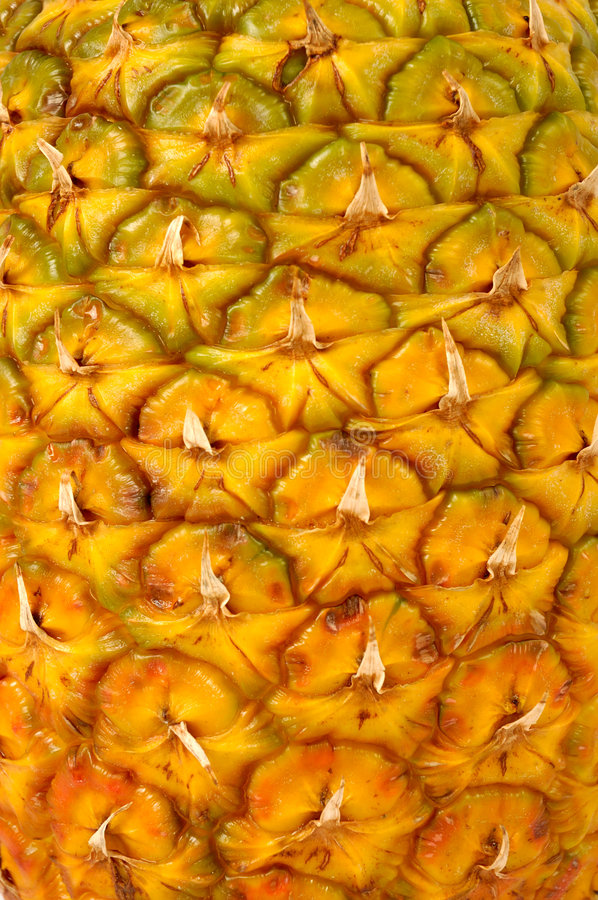 Pineapple texture royalty free stock photo