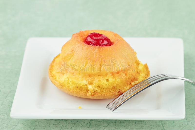 Pineapple Upside Down Cake stock image