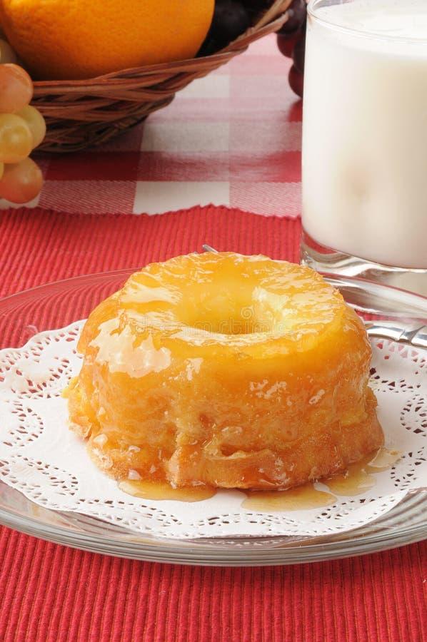 Download Pineapple Upside Down Dessert Cake Stock Image - Image: 26707131