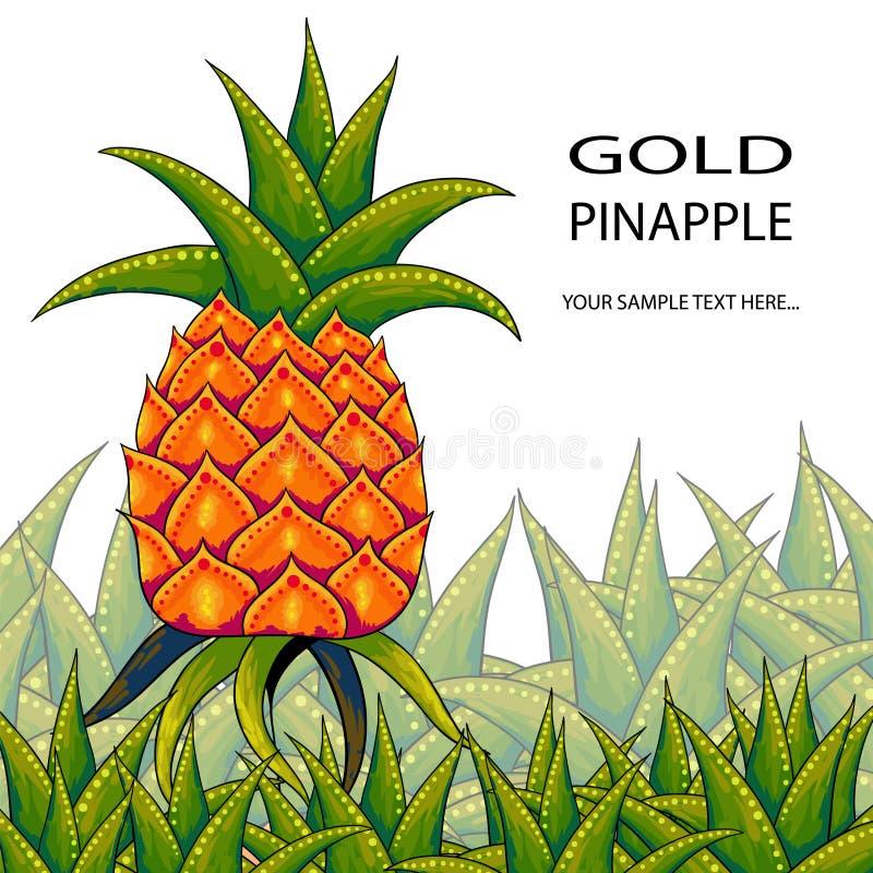 Pineapple stock illustration