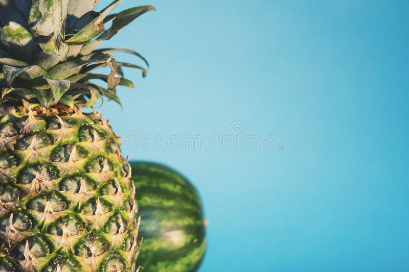 Pineapple And Watermelon Free Public Domain Cc0 Image