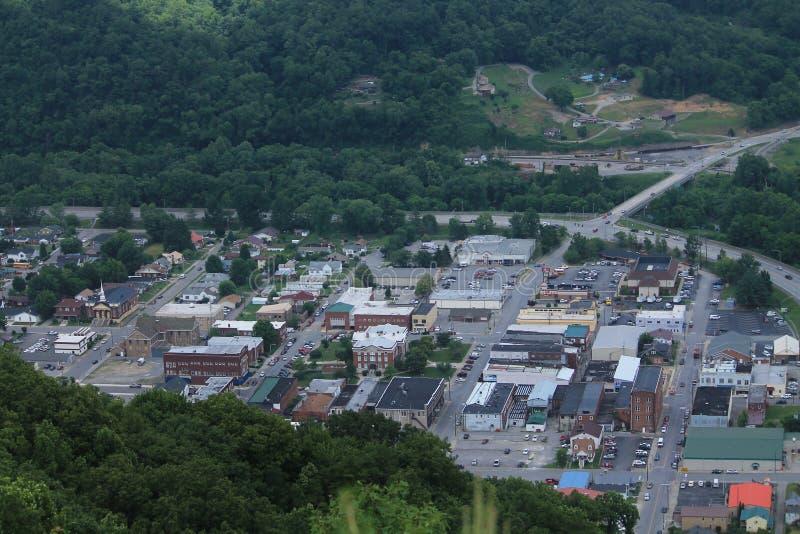 Pineville,肯塔基都市风景  库存照片