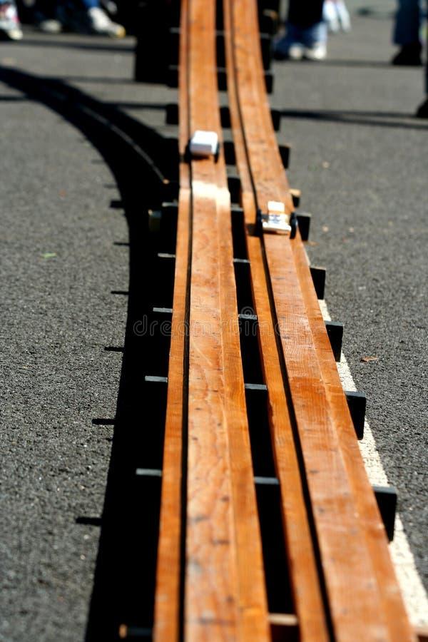 pinewood derby стоковое изображение rf