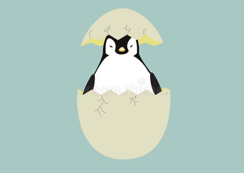 Pingüino del bebé imagen de archivo libre de regalías