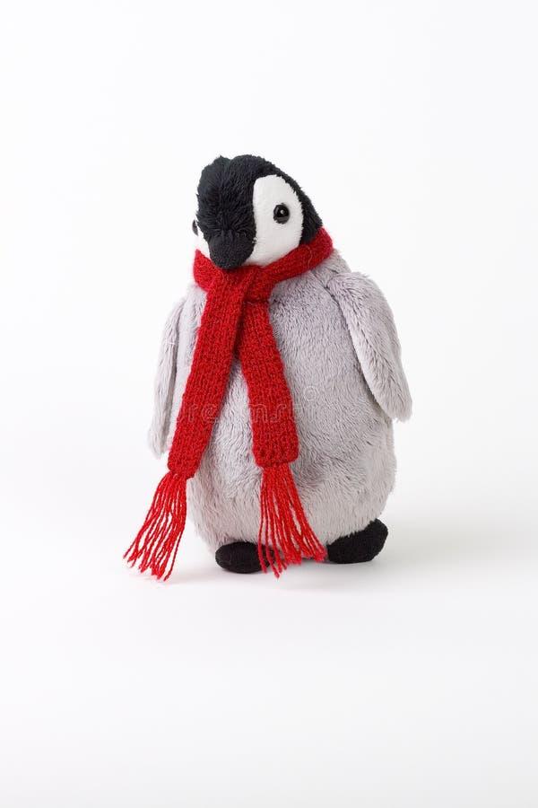 Pingüino relleno imagen de archivo