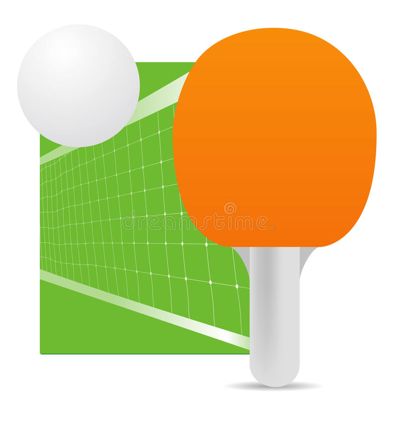 Ping-pong illustration de vecteur