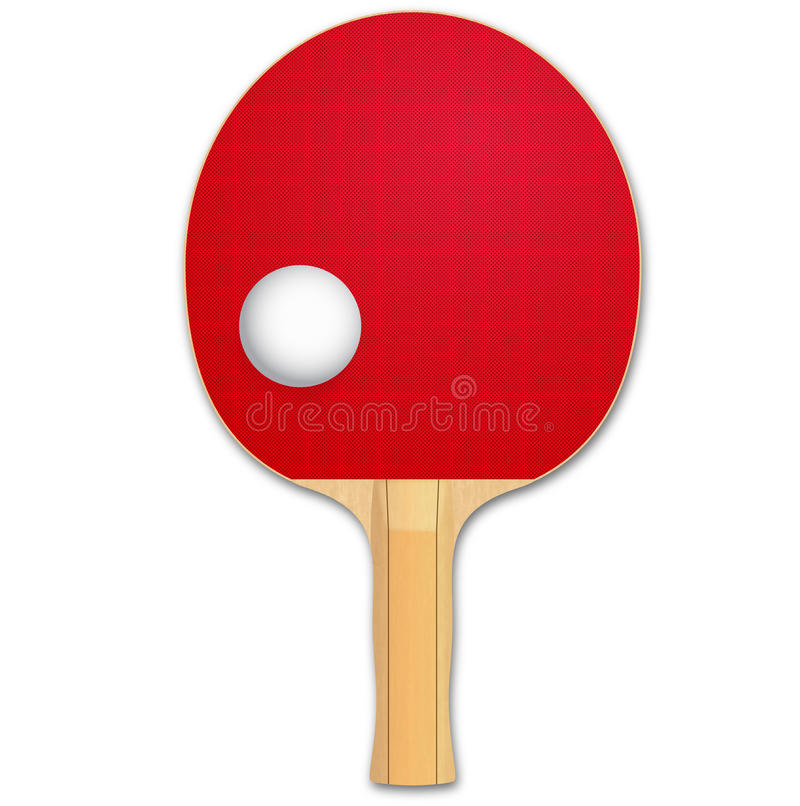 Download Ping Pong stock illustration. Image of handle, isolated - 16520200