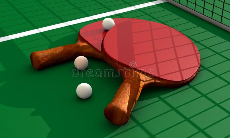 Ping Pong stock illustratie