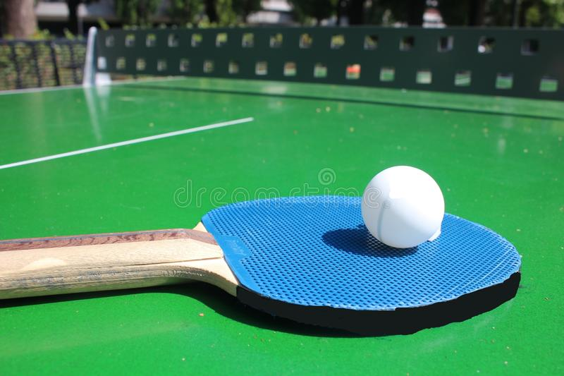 Ping-pong obrazy stock