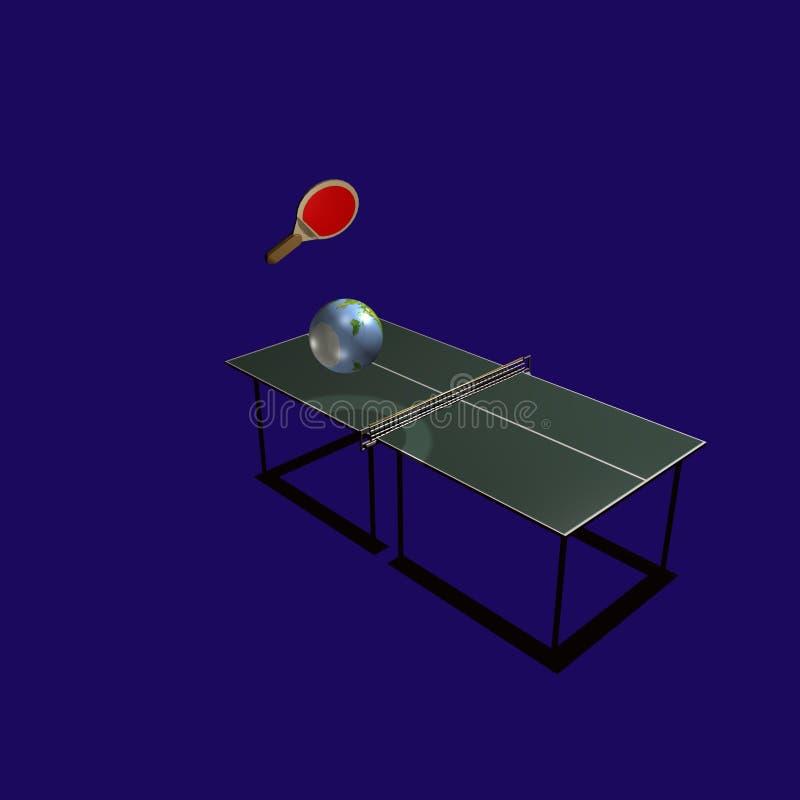 Ping-pong foto de archivo libre de regalías