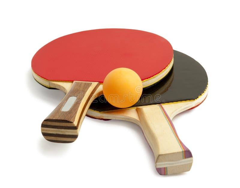 Ping-pong aislado fotos de archivo