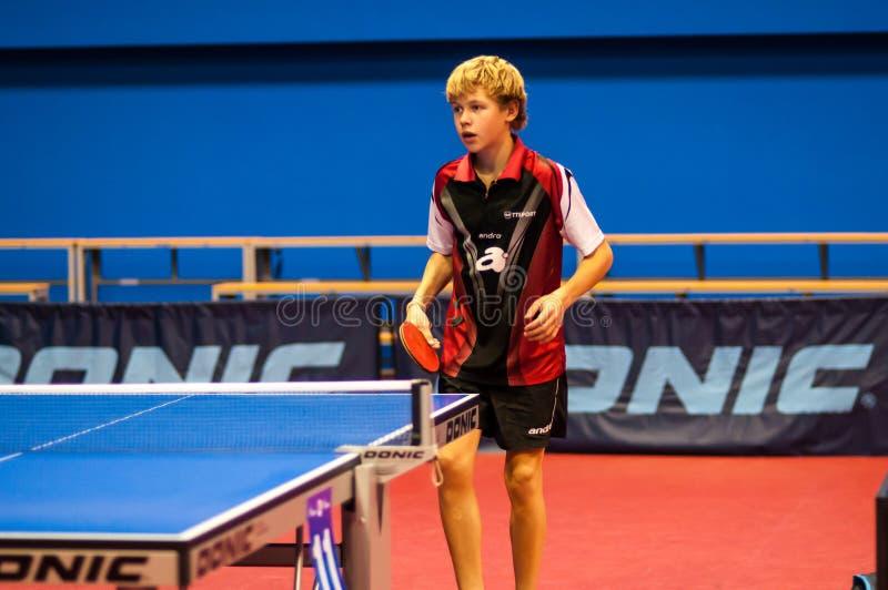 Ping-pong del juego fotografía de archivo