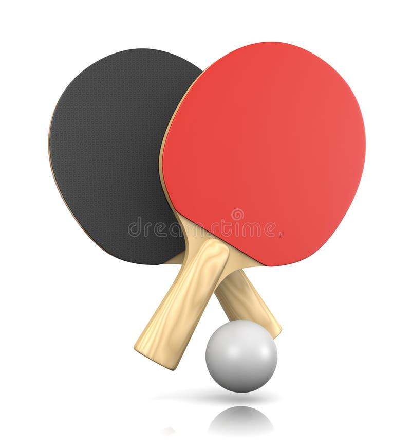 Ping-Pong Game illustration de vecteur
