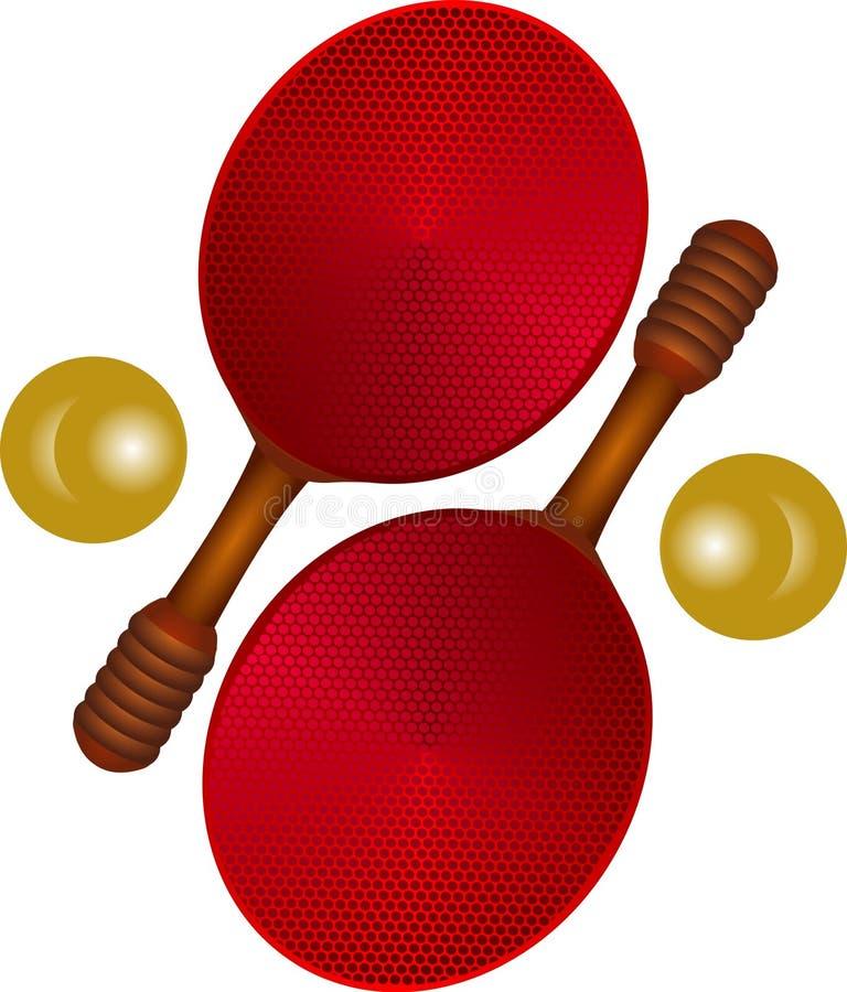 Download Ping pong icons. stock vector. Image of ribbon, activity - 1908487