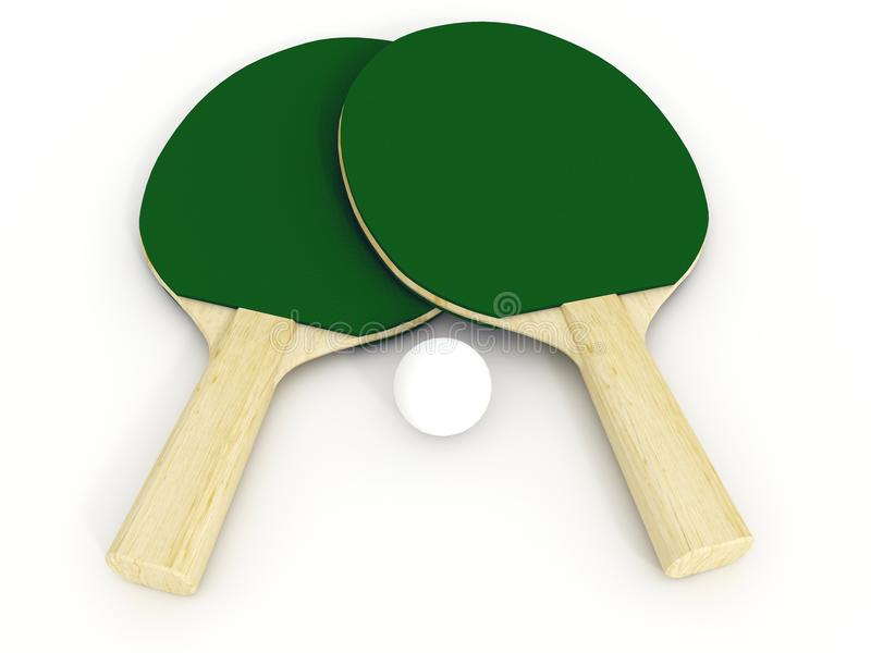 Download Ping pong racket stock illustration. Illustration of sports - 6841478