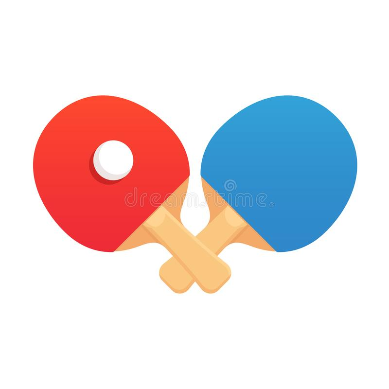 Free Ping Pong Rackets Royalty Free Stock Photography - 112397517