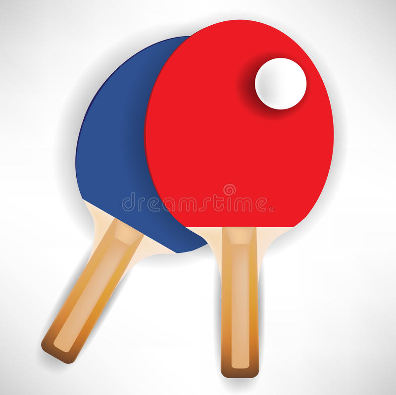 Download Ping Pong Rockets With Ball Stock Vector - Image: 21620131