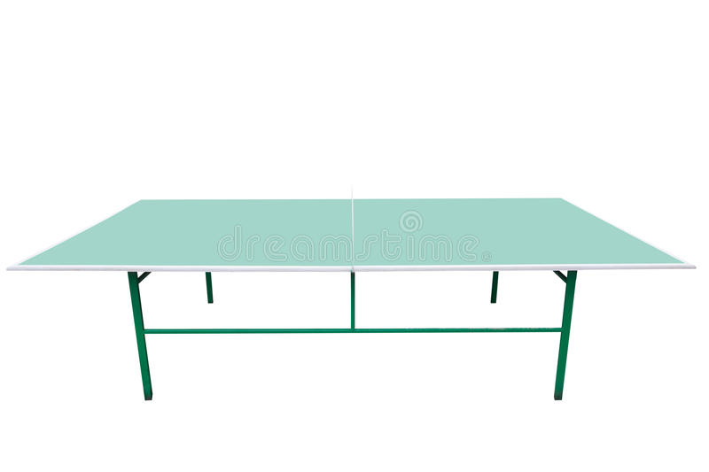 Ping-pong table stock photography
