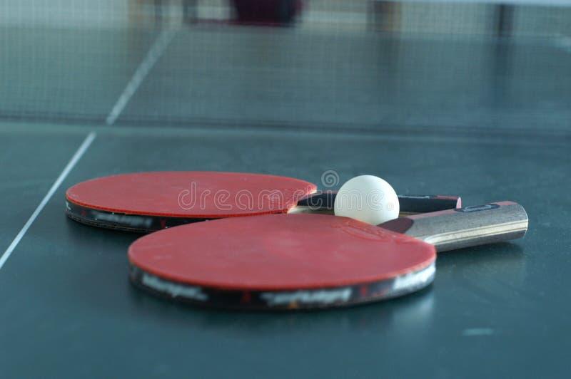 ping - pong zestaw obraz stock