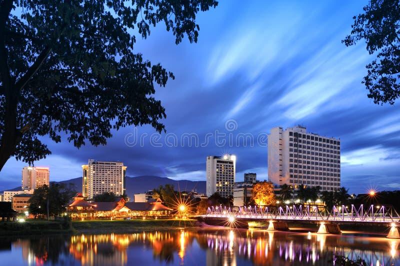 Ping River Chiang Mai Thailand immagini stock libere da diritti
