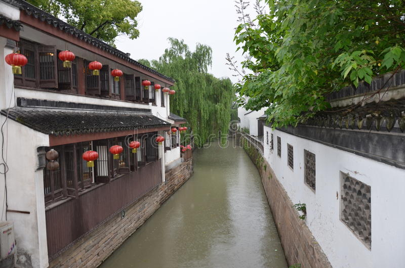 Pingjiang Road at Suzhou,China stock photo