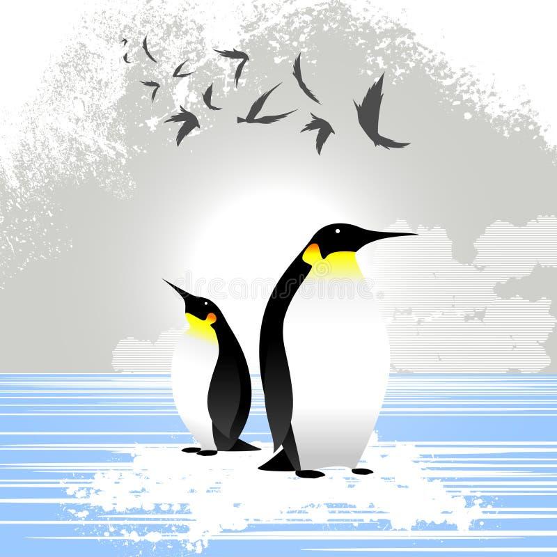 Pingouin illustration de vecteur