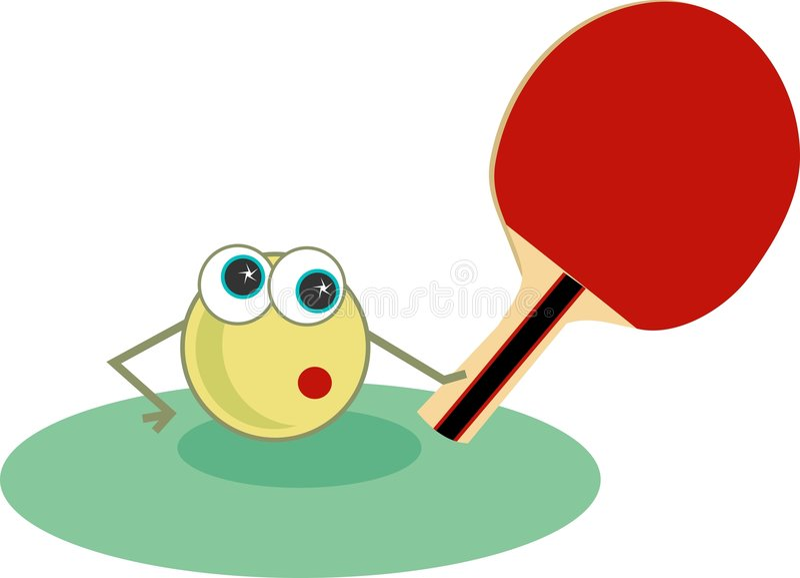 Download Pingpong vector illustratie. Illustratie bestaande uit knuppels - 43727