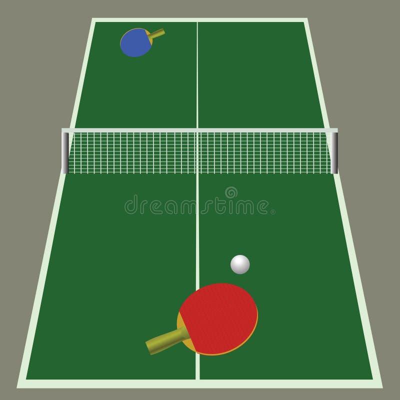 Download Pingpongspel vector illustratie. Illustratie bestaande uit binnen - 39107136